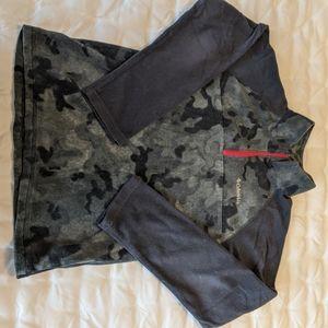 Columbia 3/4 zip fleece top